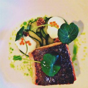 Sea trout, horseradish, dill & cucumber